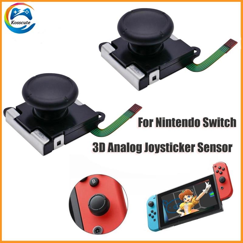 2 unids/lote para Nintend interruptor 3D de Sensor analógico Joystick palos de...