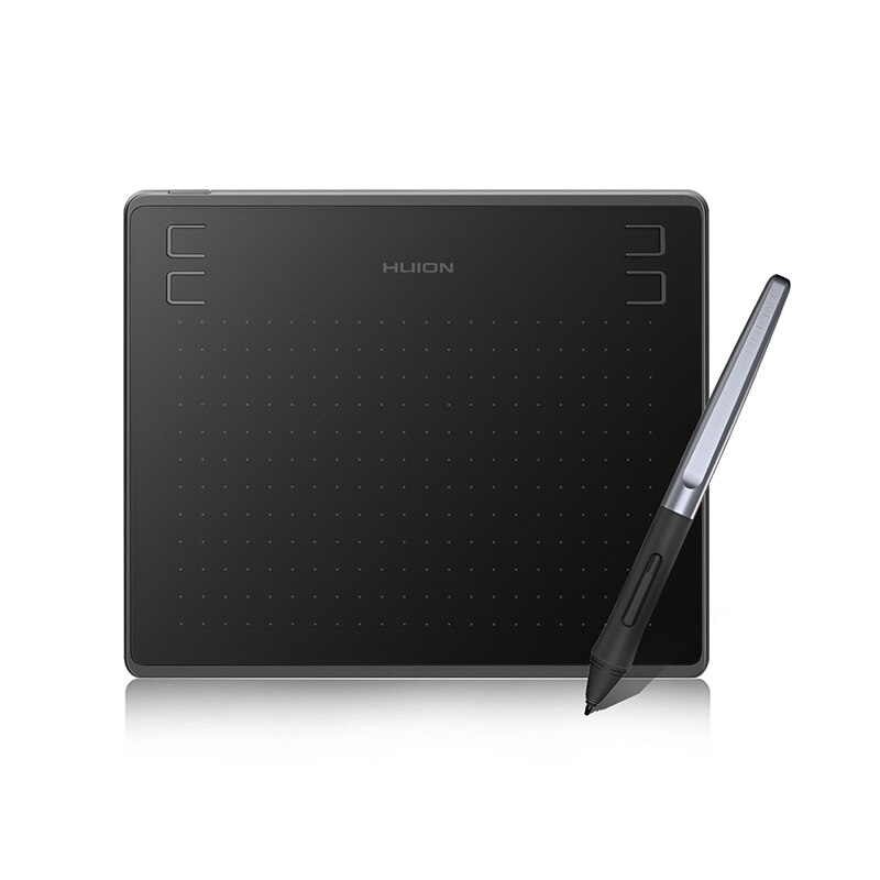 HUION HS64 الرسومات الرسم أقراص رقمية OTG وظيفة قلم توقيع اللوحي مع بطارية خالية من القلم لنظام التشغيل أندرويد ويندوز macOS