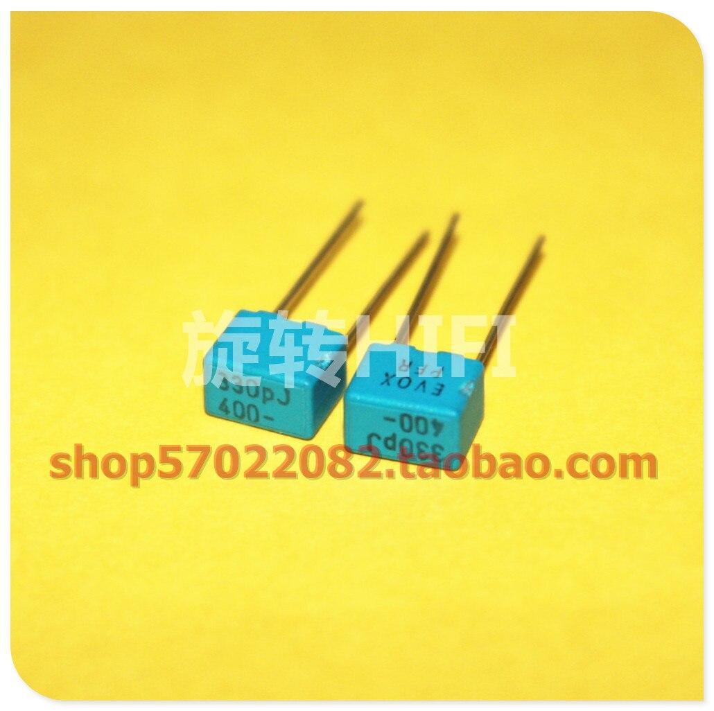 20 piezas nuevo EVOX PFR5 330PF 400V P5MM MKP 331 película EVOX-RIFA jubilación 330pf/400v 0.33NF 330P 400VDC 331/400V