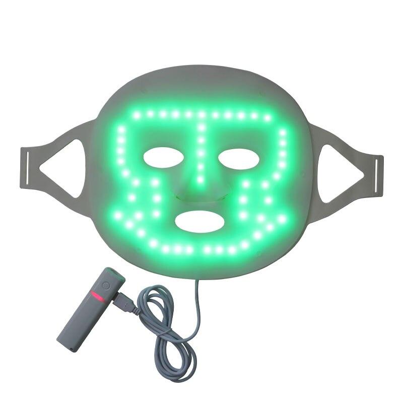 3 ألوان LED قناع الوجه العلاج بالضوء قناع الوجه تجديد الجلد LED قناع جهاز العناية بالوجه الوجه تبييض قناع علاج