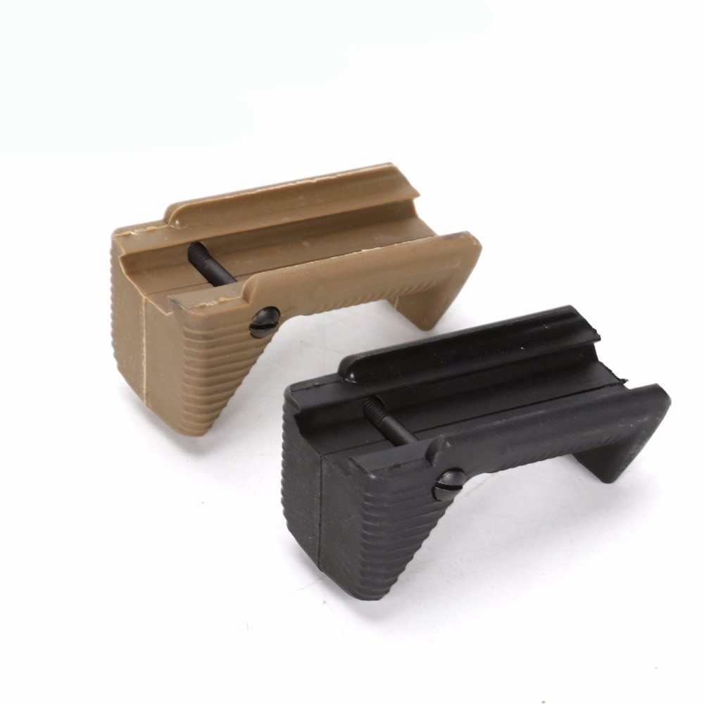 Tactical Hand Grip Adjustable Airsoft Foregrip Grip Rifle Hunting Front for Picatinny Gel Ball Toy Accessory 20-21mm rail
