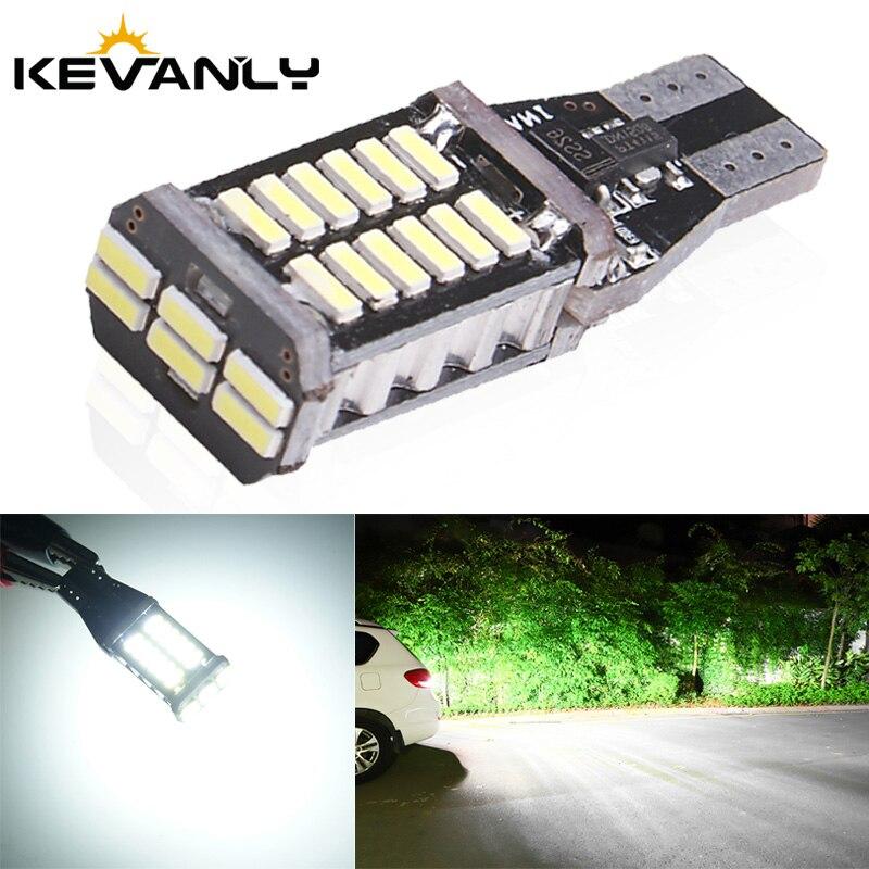 1 pc w16w t15 led 921 912 4014 20smd lâmpadas led carro reverso lâmpada de freio xenon branco dc12v