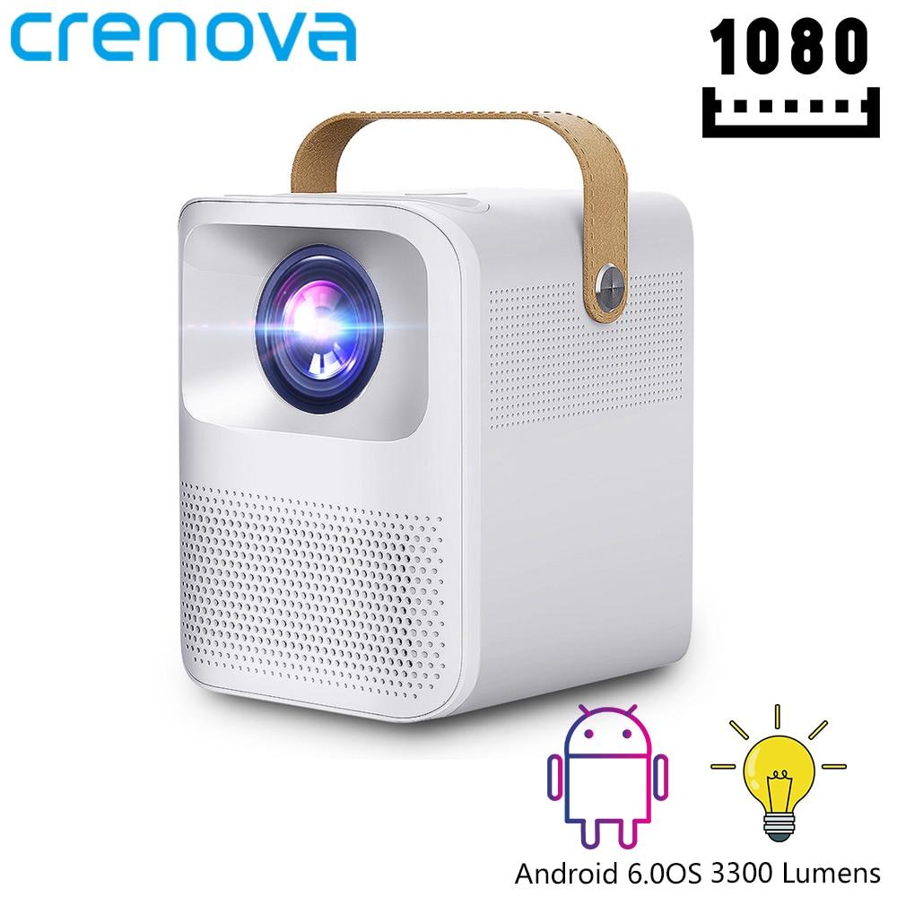 CRENOVA Portable Projector ET30S 1080P Full HD Android Wifi 3D Mini Porjector Home Cinema Support 4K