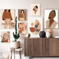 Toile dart mural Vintage pour fille  toile abstraite  affiches et imprimes nordiques  images murales pour decoration de maison