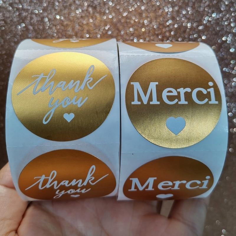 rollo-de-pegatinas-de-decoracion-de-papeleria-de-navidad-hechas-a-mano-papel-de-aluminio-dorado-pegatina-de-sellado-gracias-pegatina-500-uds-por-rollo