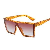 vintage black square sunglasses women oversized big frame sun glasses female male luxury brand designer mirror