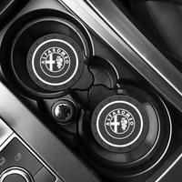 for alfa romeo car standard universal cup holder%ef%bc%8ccar pvc non slip coaster car interior water coaster car decoration supplies