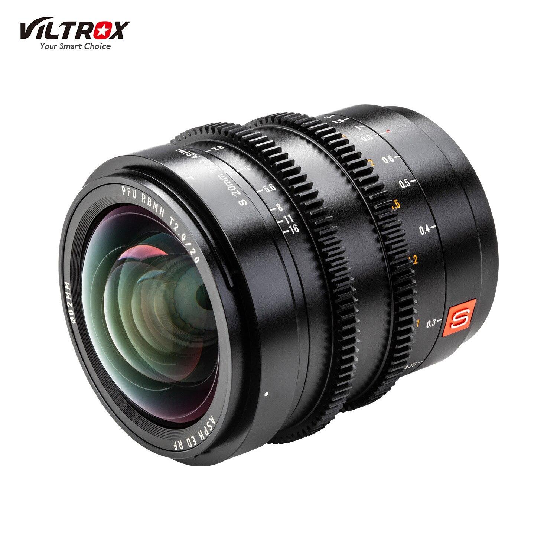 Viltrox S20mm T2.0 ASPH-عدسة L-mount كاملة ، زاوية عريضة ، فتحة كبيرة ، لتركيب Lumix S1R S1 S1H SL2 L