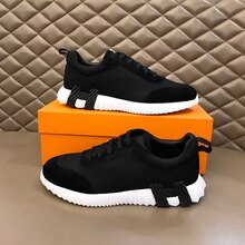 Men's leather sneakers designer low-top casual shoes fashion business shoes autumn and winter shoes