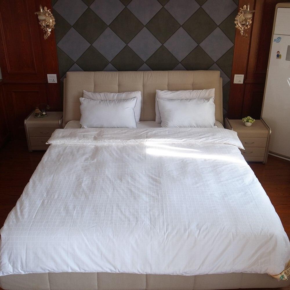 Premium chino edredones de seda 100% naturaleza largo seda edredón de seda mantas con puro cubierta de tela de algodón suave y cómodo