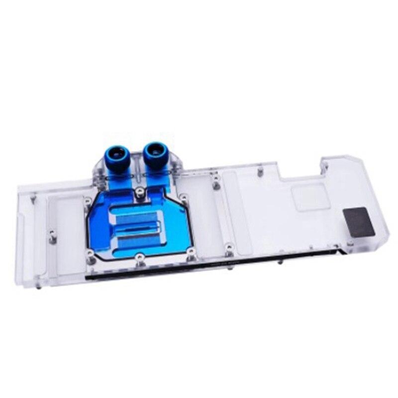3090 وحدة معالجة الرسومات كتلة غطاء كامل بطاقة جرافيكس كتل تبريد المياه ، ل ZOTAC RTX 3090 TQ OC ، BS-AIC3090-PA