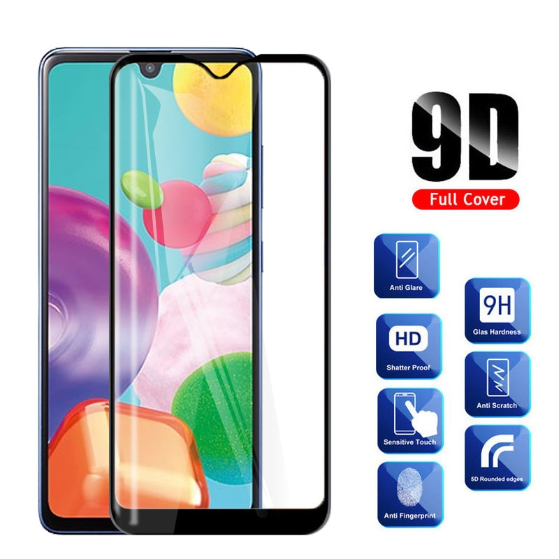 Vidrio templado para Samsung A01 Protector de pantalla para Samsung Galaxy A01 A 01 SM-A015F A015 A015F película protectora de vidrio para teléfono