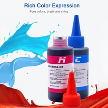 Universal 100ml Tinte Patrone Refill Ersatz Refill Tinte für Canon Samsung Lexmark Epson Dell Brother