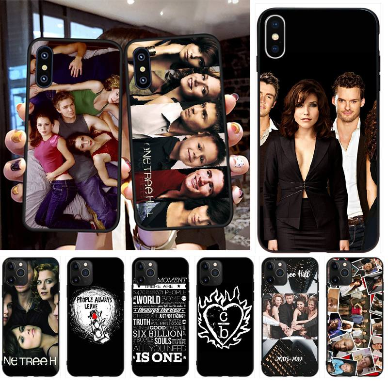 Чехол для телефона NBDRUICAI One Tree Hill для iPhone 11 pro XS MAX 8 7 6 6S Plus X 5S SE XR