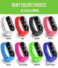 Reloj deportivo Digital para estudiantes, Reloj de Mujer de siliconas, marca de niño, Reloj de pulsera para hombres, Reloj para niños, Reloj para Mujer W50