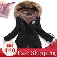 2020 New Parkas Female Women Winter Coat Thickening Cotton Winter Jacket Womens Outwear Parkas for Women Winter