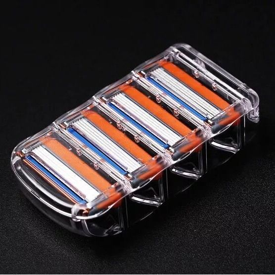 Cuchilla de afeitar de seguridad corporal para hombre, afeitadora Gillette rasuradoras Fusion,...