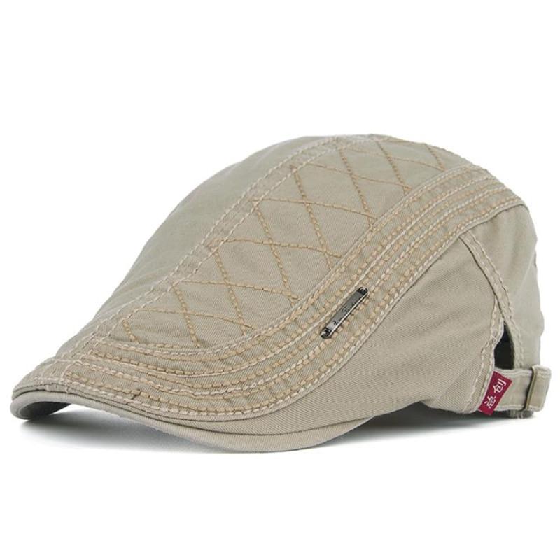 LA 2019 spring and summer new fashion casual men and women cotton beret Korean version of the cap forward cap cowboy hat