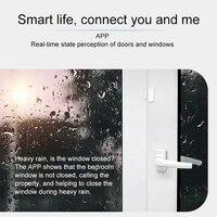 Capteur intelligent porte fenetre   2 4GHz  alarme WiFi  detecteur de securite a domicile  moniteur de telephone GK99