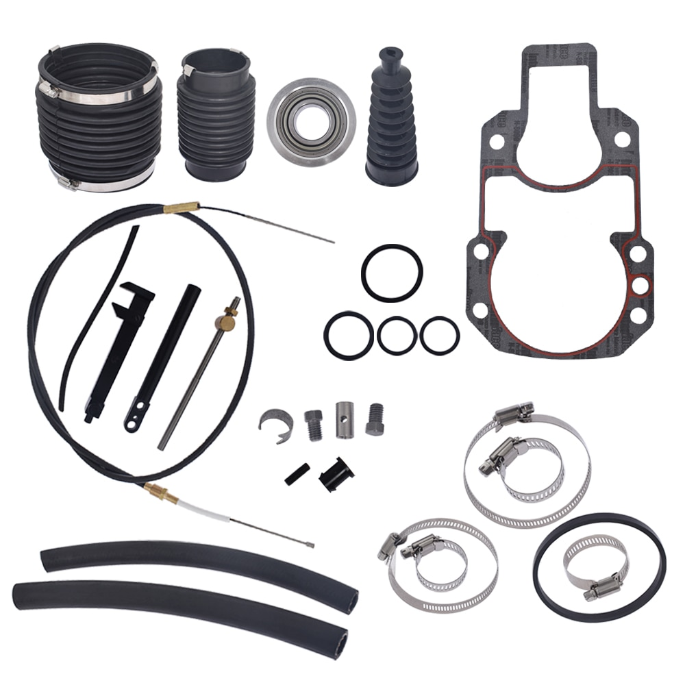 For Mercruiser Alpha One Transom Seal Bellow Kit With Lower Shift Cable Alpha 1 enlarge