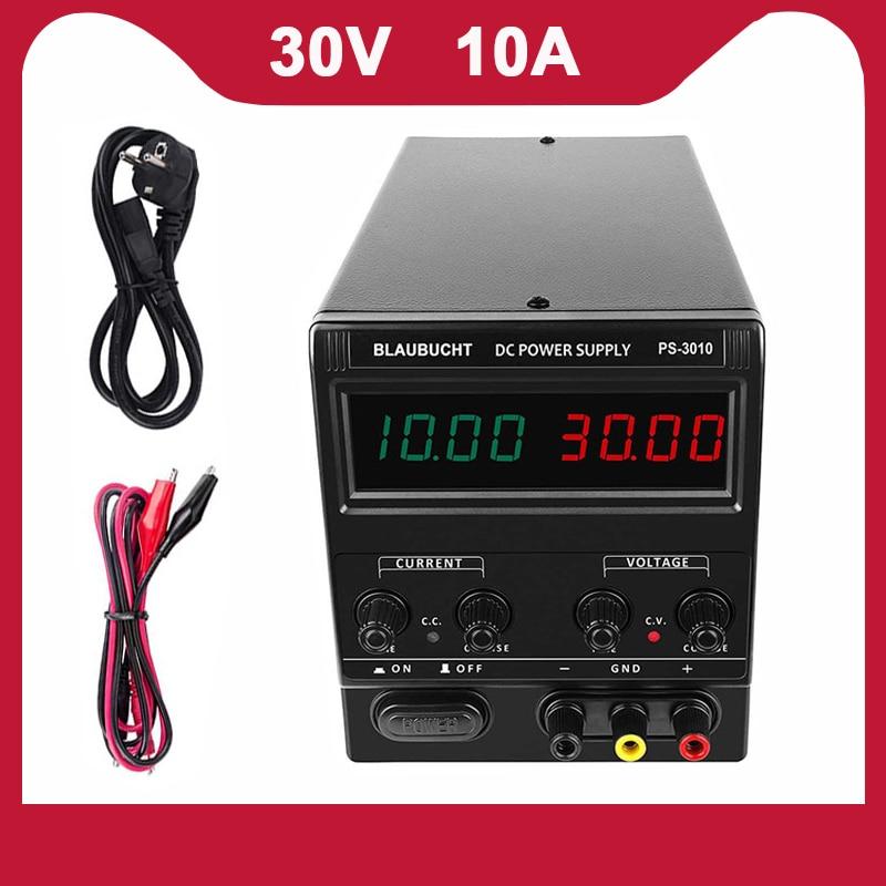 مزود طاقة معمل قابل للتعديل ، 30 فولت ، 10 أمبير ، تيار مستمر ، 120 فولت ، 60 فولت ، 48 فولت ، 36 فولت ، طاقة قابلة للتعديل
