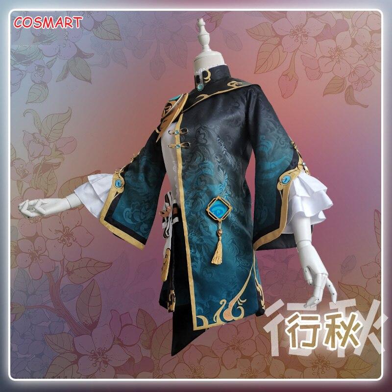 XingQiu-زي قتال أنيمي Genshin ، تأثير ، زي قتال ، زي موحد ، هالوين ، للرجال والنساء ، مخصص ، 2021