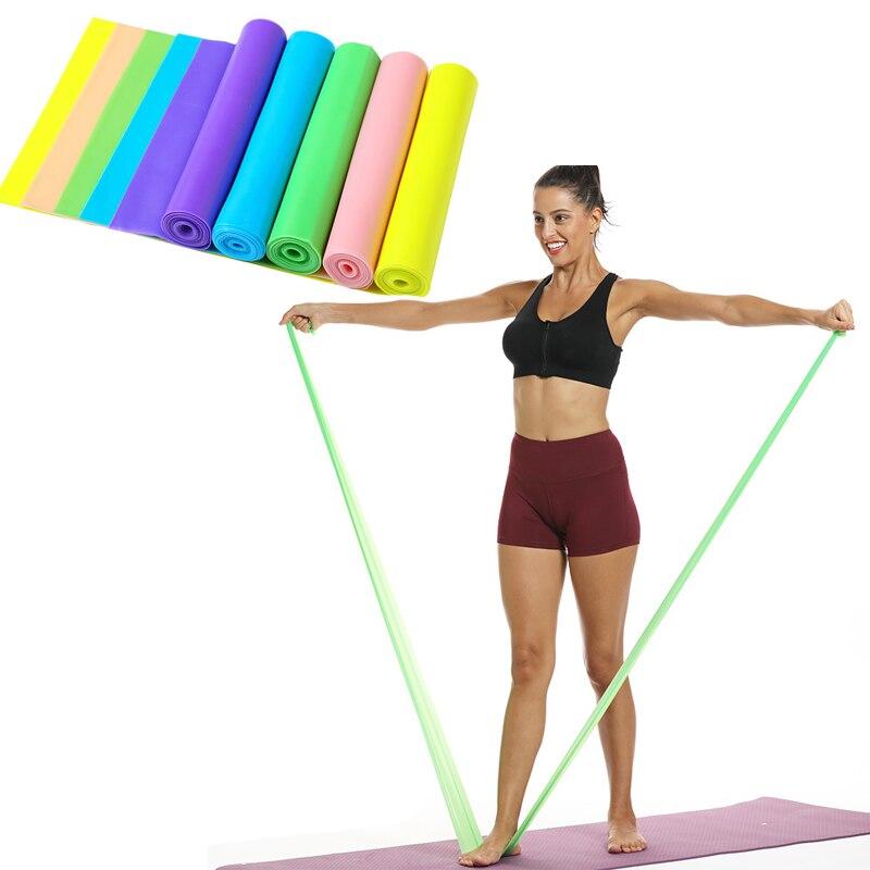 Эспандер для фитнеса, эластичная лента для занятий йогой и фитнесом, эластичная лента для натяжения, оборудование для фитнеса