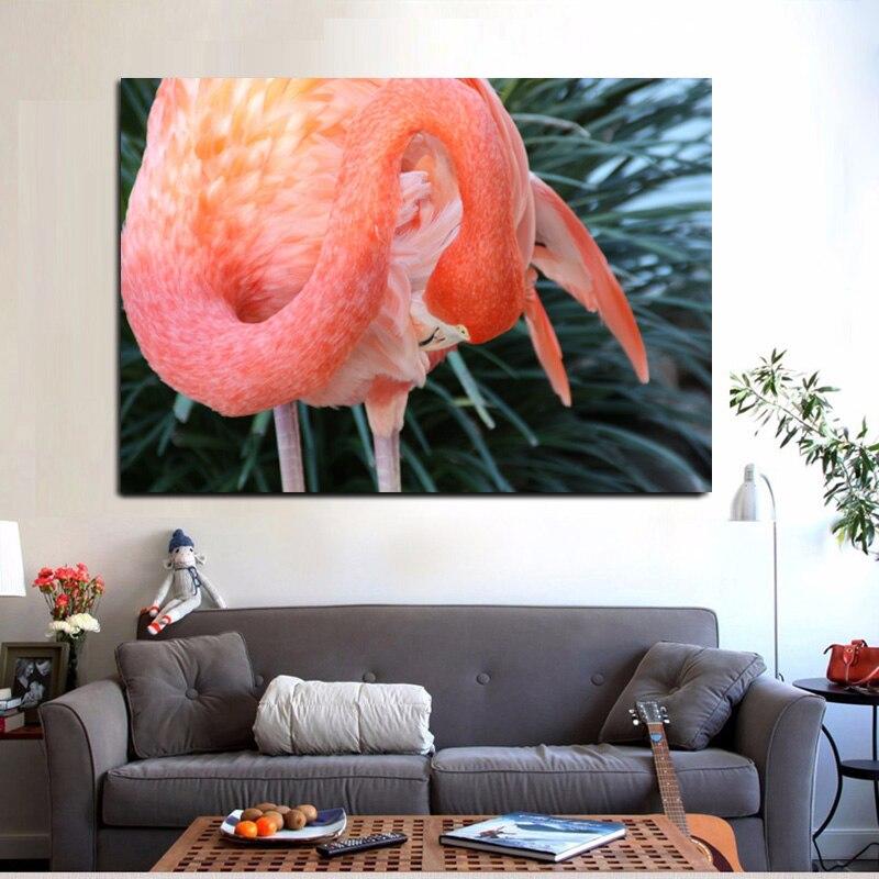 Carteles de animales nórdico e impresiones lienzo flamenco abstracto pintura Cuadros de pared para Cuadros de sala de estar decoración del hogar sin marco