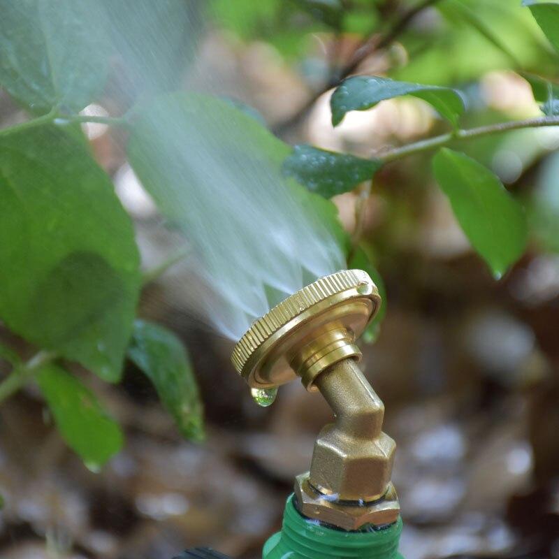 """Boquilla de aspersor de latón para pulverización, boquilla de refracción, boquilla de niebla para jardín, riego, herramientas de jardín, 1 Uds., 1/2"""""""