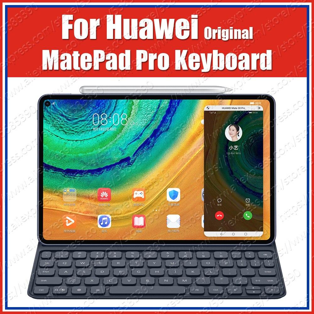 MRX-W09/AL09 260g PU HUAWEI mate Pro funda Original teclado magnético inteligente Funda de cuero con tapa y adhesivo ruso