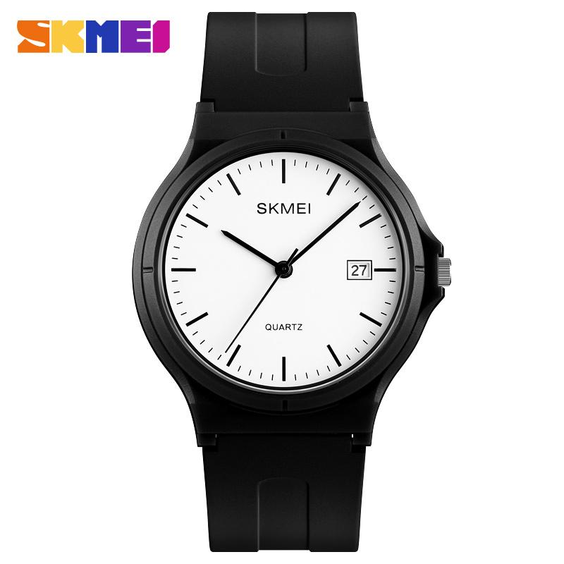 SKMEI Casual Sports Ladies Wrist Watch PU Strap Calendar Women Watches Top Brand Luxury Lady Clock Large Dial Relogio Feminino enlarge
