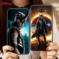 avengers loki for lg k92 k62 k52 k42 k31 k22 k71 k61 k51s k41s k30 k20 g8 g8s g8x thinq soft phone case