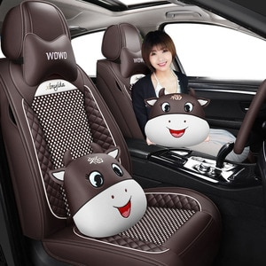 High quality Leather Car seat covers For peugeot 206 207 308 307 407 2008 partner 301 508 sw 208 5008 2020 rcz accessories