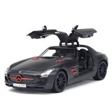 Maisto 1:18 SLS AMG Sports Car Static Simulation Diecast Alloy Model Car