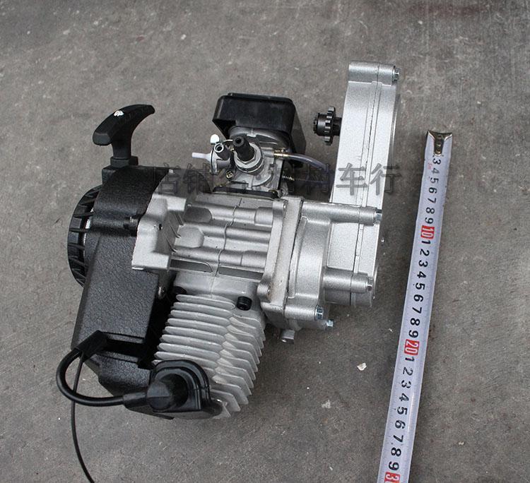 49CC اثنين من السكتة الدماغية قطع الغيار للدرجة النارية محرك البنزين علبة التروس ل دراجة الجيب سكوتر صغير الحجم دراجة نارية