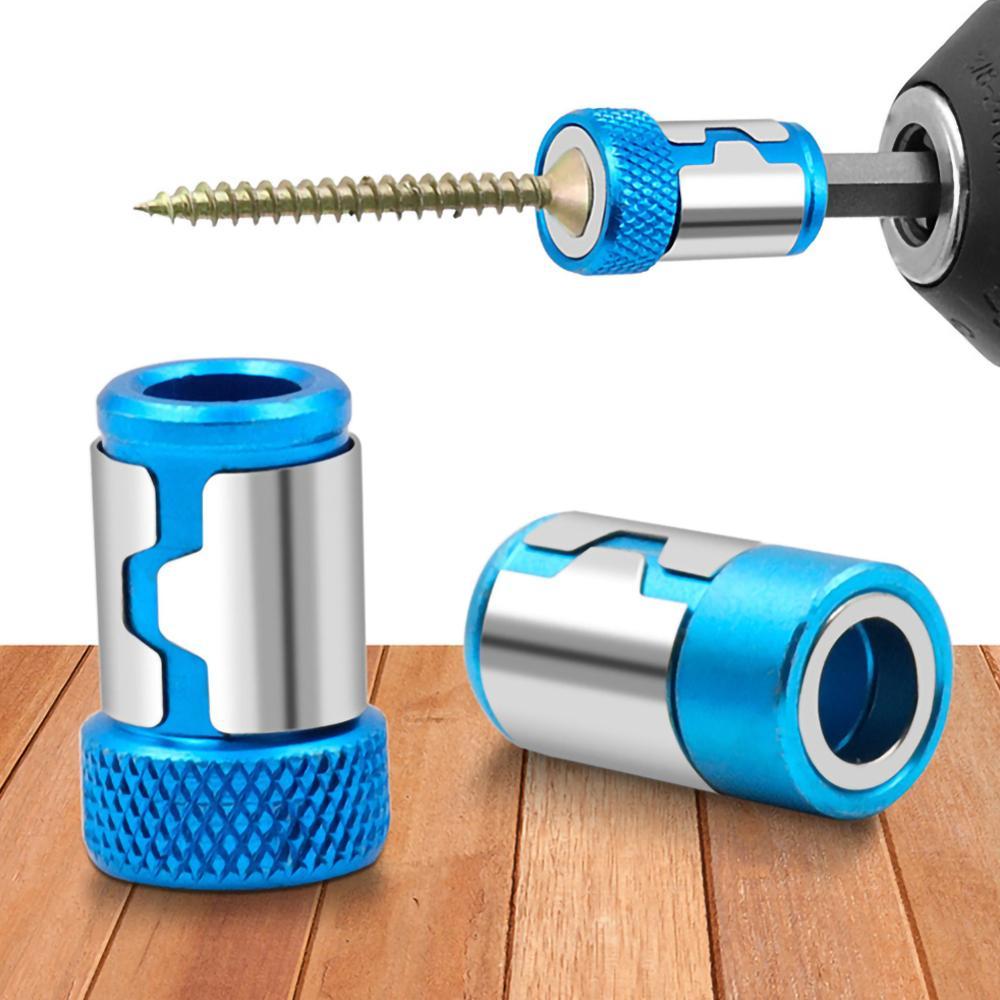 Anello magnetico in lega, anello magnetico per punte per cacciavite, forte magnetizzatore anticorrosione per punta da trapano