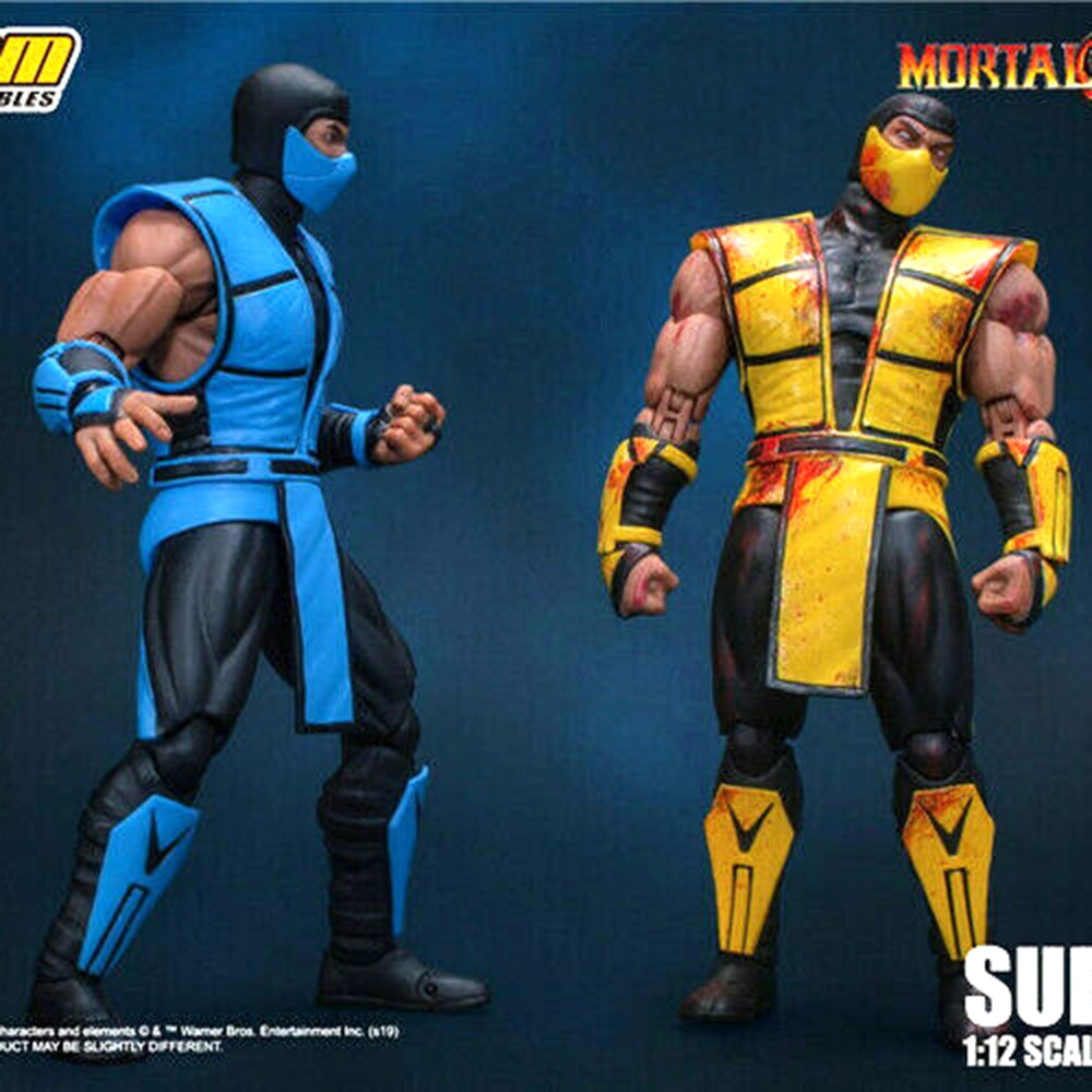 Предварительная продажа для коллекции 15 см игрушки от storm DCMK-003 1/12 Mortal Kombat Sub-Zero Коллекционная Фигурка модель игрушки
