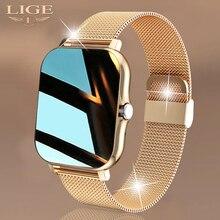 LIGE 2021 New Women Smart watch 1.69