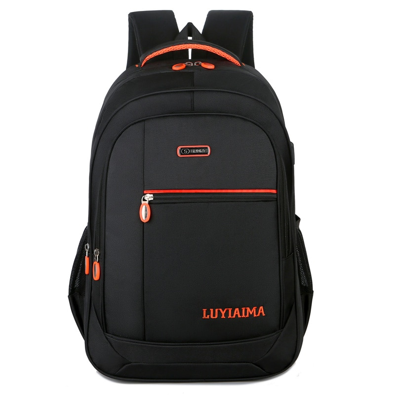 Backpack Men Notebook Computer Oxford Bags Large Capacity For Teenagers High Quality Backpacks School  Short Trip Bag Hot Sell