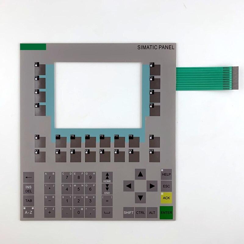OP170B 6AV6 542-0BB15-2AX0 لوحة مفاتيح غشائية لإصلاح لوحة HMI ~ تفعل ذلك بنفسك ، جديد ولها في الأوراق المالية