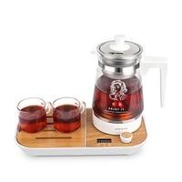 220V Multifunction Electric Kettle Teapot Insulation Tea Maker Health Preserving Pot Glass Boiled Tea Pot with Filter 600ML