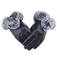 gloves women %d0%bf%d0%b5%d1%80%d1%87%d0%b0%d1%82%d0%ba%d0%b8 winter new 2020 fashion russian warm pu faux leather full finger ladies classic gloves mittens