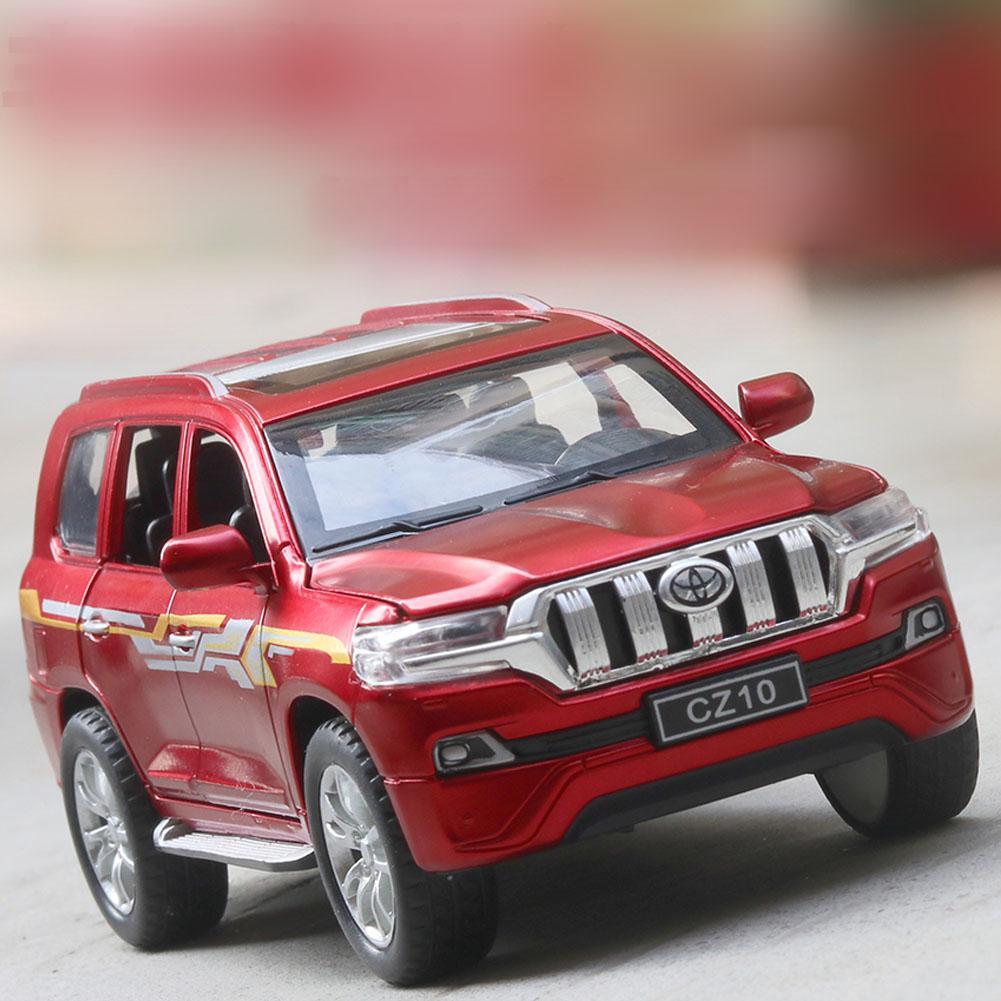 Kuulee niños Cool aleación todoterreno vehículo tirar atrás simulación coche decoración regalos niños alta calidad niños juguetes interesantes