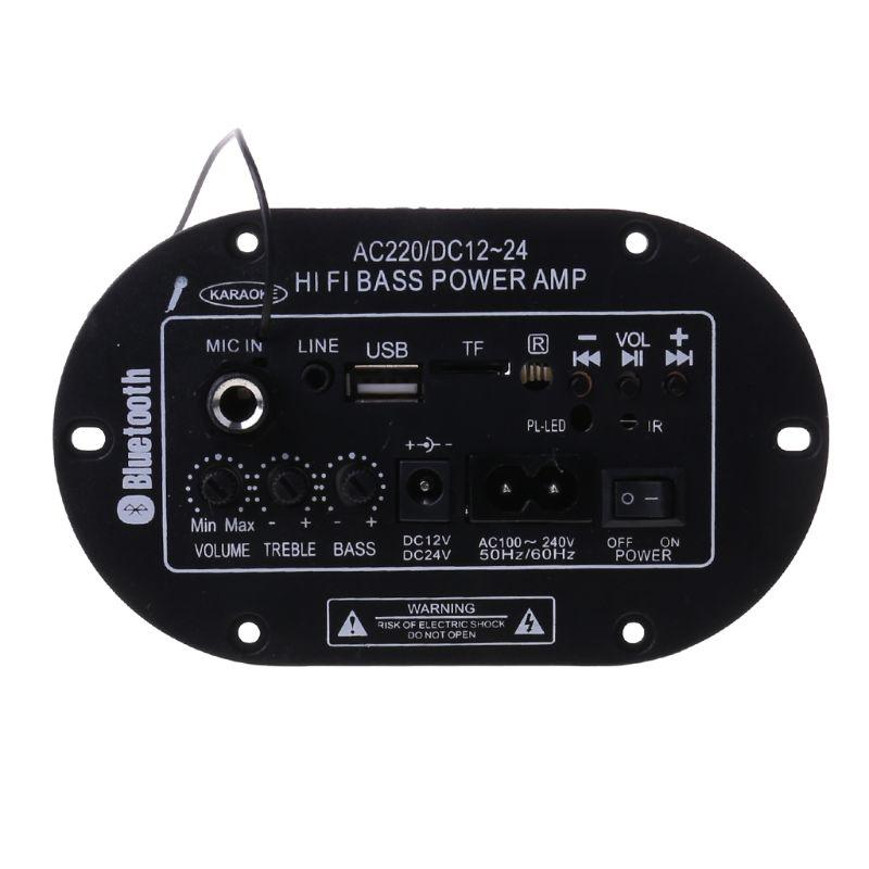 2020 nuevo 25W tablero Amplificador Bluetooth Amplificador USB FM Radio TF jugador...