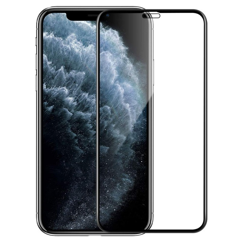 Full Cover Tempered Glass For iPhone 12 Pro Xr Xs Screen Protector For iPhone 11 Pro Max Glass Case