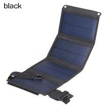 Pliable 20W USB panneau solaire Portable pliant étanche panneau solaire chargeur chargeur de batterie Mobile