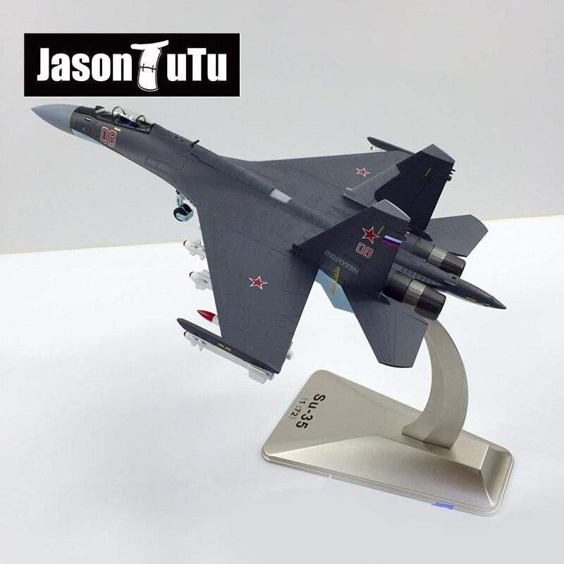 JASON TUTU Flugzeug modell 1/72 Skala Legierung Kämpfer Russische Su-35 Military Air Force SU35 Flugzeug Flugzeuge