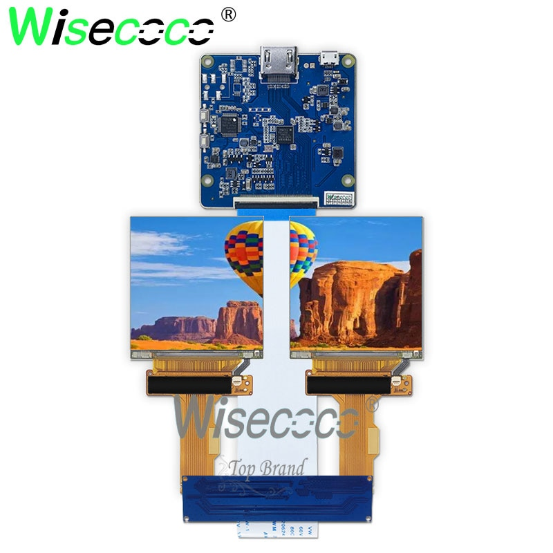 5 5 inch 2k lcd module lcd screen display and hdmi mipi driver board replacement for wanhao duplicator 7 3d printer vr glass 2.9 inch 2k 1440*1440 IPS lcd screen display panel 70Hz MIPI HDMI interface controller board LS029B3SX02 VR Project