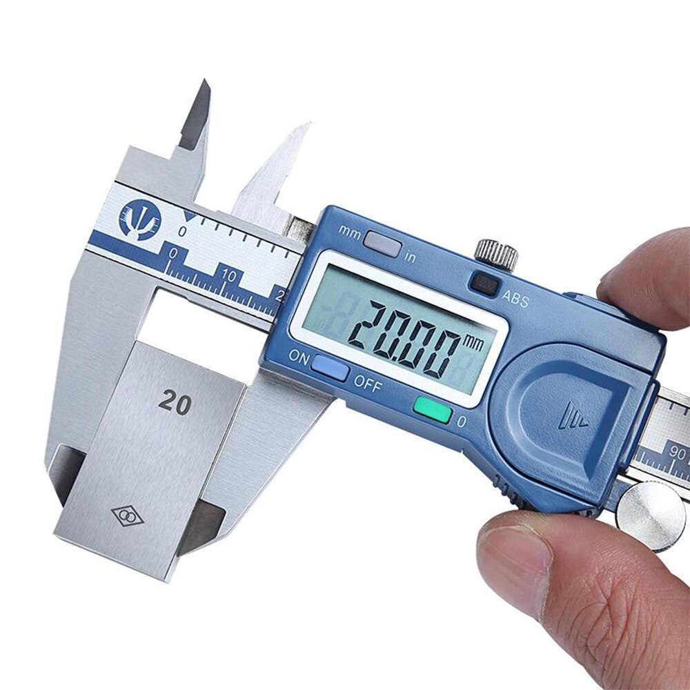 Фото - Цифровой Штангенциркуль с ЖК-дисплеем, 150 мм штангенциркуль sturm 2030 02 150
