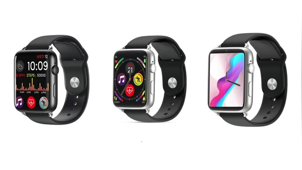 Promo DM20 Smart Watch 4G support build in SIM card slot heart rate monitor super Big screen design sport bracelet for Men